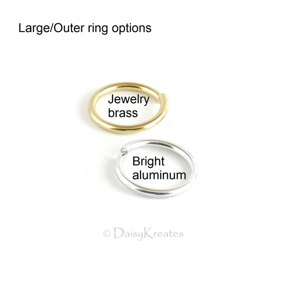 Large/Outer ring options for Ghenghiz Cohen Bracelet