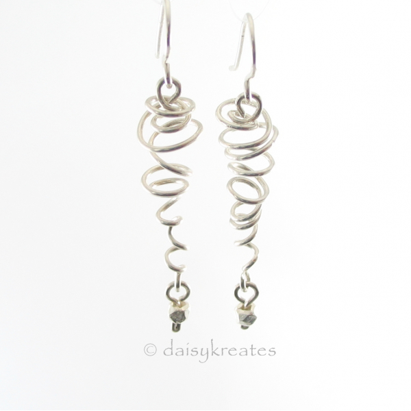 Sterling Silver Sprite Earrings