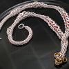 Sterling Silver Graduated Full Persian RazzleDazzle Statement Necklace