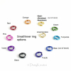 Small/Inner ring color options for Ghenghiz Cohen Bracelet