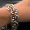 Ghenghiz Cohen Bracelet wears with a soft flexible drape on wrist