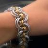 Ghenghiz Cohen Bracelet wears with a soft flexible drape on wrist