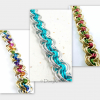 Ghenghiz Cohen chainmaille bracelet samples