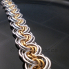 Ghenghiz Cohen Chainmaille Bracelet features concentric, interlocking pattern