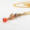 Golden Harvest Long Y Necklace