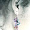 Niobium Forget-Me-Not Earrings - Short version