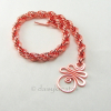 Moon Rise bracelet is all hand woven in the classic French Rope Spiral pattern