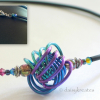 """Danish Knot Necklace length is adjustable around 16"""", +/- 1/2"""""""