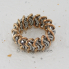 Vertebrae chainmaille ring' soft mesh-like texture, providing comfortable fit