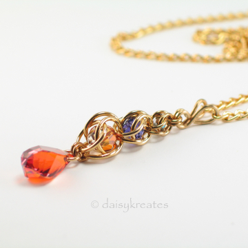 Golden Harvest Long Y Necklace