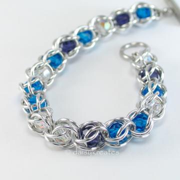 Captured in Blue Bracelet