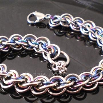 3x3 Wave Bracelet