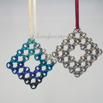 Ornaments in Japanese 8 in 2 Captive 1 Weave