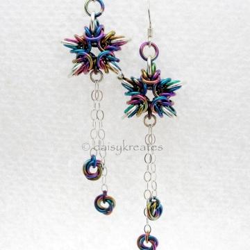 Byzantine Stars Earrings