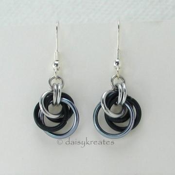 Petite Tea Rose Earrings