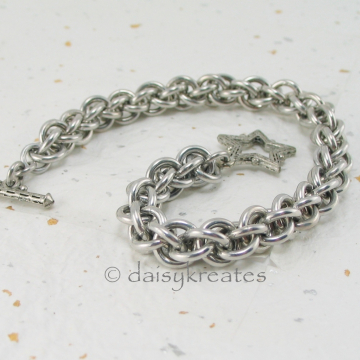Chainmaille Jens Pind Linkage JPL3 Bracelet